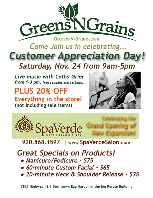 Greens N Grains & Spa Verede Customer Appreciation Day